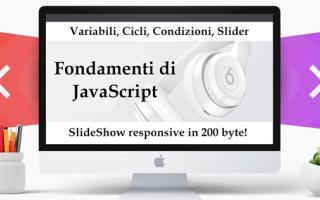 Programmazione: javascript  slideshow