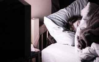 Salute: tv  dormire  salute