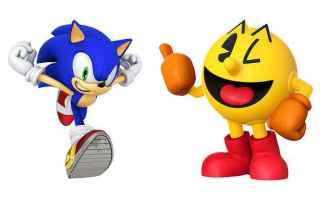 Console games: sonic  pac man  videogames