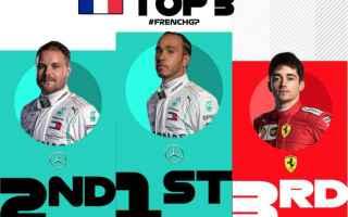 Lewis Hamilton nello scorso week end, a Le Castellet con la quarta vittoria consecutiva, ha messo le