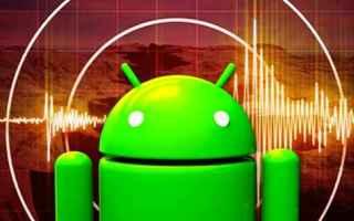 Tecnologie: terremoti android terremoto scossa apps