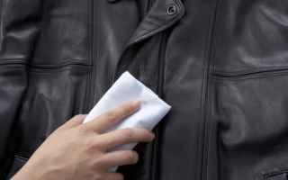 giacca in pelle  come pulire una giacca