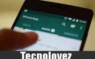 WhatsApp: whatsapp condivisione stati