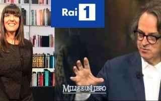 Televisione: La Diocesi di Capri con Maria Simeoli ospite nella trasmissione MilleeunLibro di Raiuno condotta da Gigi Marzullo
