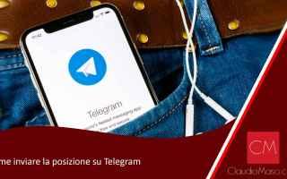 Telegram: telegram  posizione
