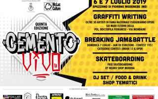 E' giunta alla quinta edizione la Street Jam Nazionale di graffiti Cemento Vivo che si svolge ogni
