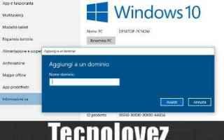 Microsoft: windows 10  cambiare nome