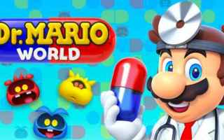 Mobile games: mario  dr mario  nintendo  android  iphone