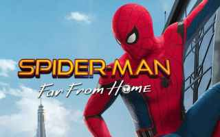 Cinema: far from home  spider-man