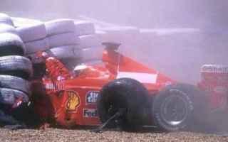 Formula 1: formula 1  ferrari  schumacher incidente