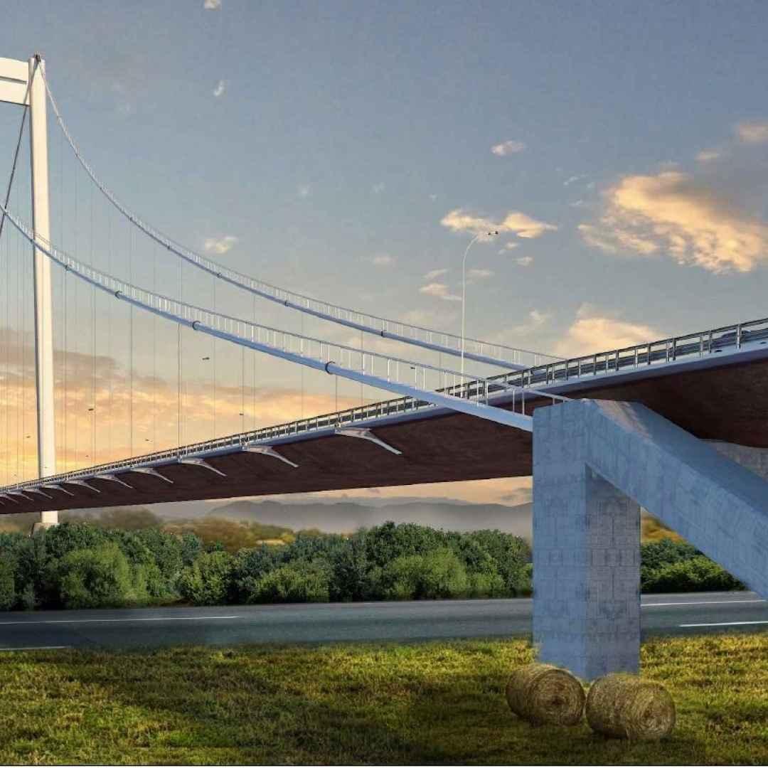 ponte sul danubio  ponte di braila