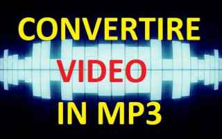 Computer: video in mp3