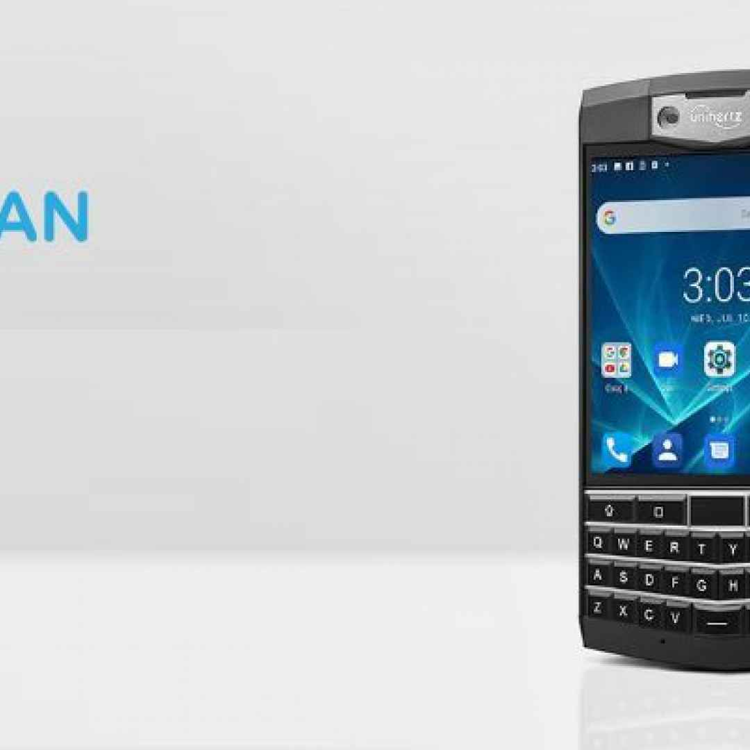 unihertz titan  uniherz  blackberry
