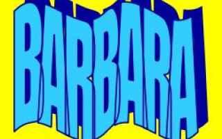 barbara  significato  etimologia  nome