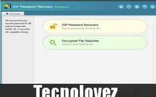 zip password recovery professional