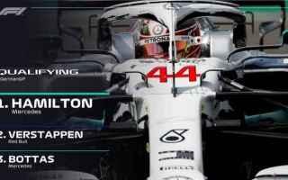 Lewis Hamilton conquista la 87 pole position, sfruttando i problemi daffidabilità della Ferrari, co
