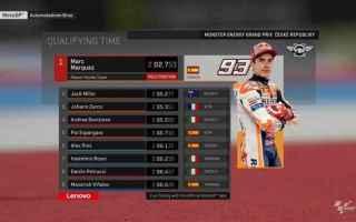 Magia incredibile di Marc Marquez, nelle qualifiche del Gran Premio della Repubblica Ceca, rientrato