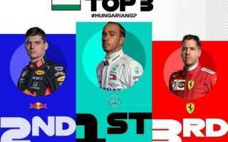 Lewis Hamilton batte Max Verstappen in Ungheria, vincendo una delle più gare più belle della sua c