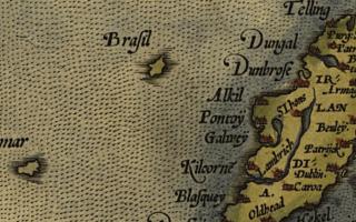 Cultura: hy-brasil  mappe  irlanda