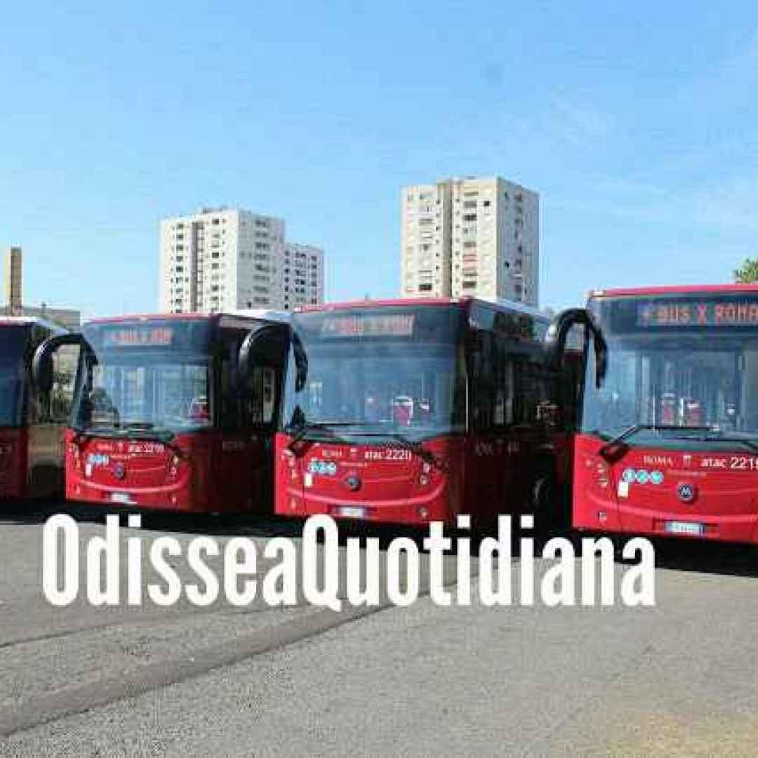 roma  trasporto pubblico  atac  autobus