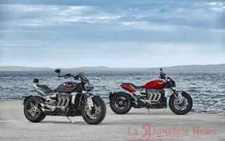 Moto: Presentata la II serie della Muscolosa e potente Triumph Rocket 3 R e GT