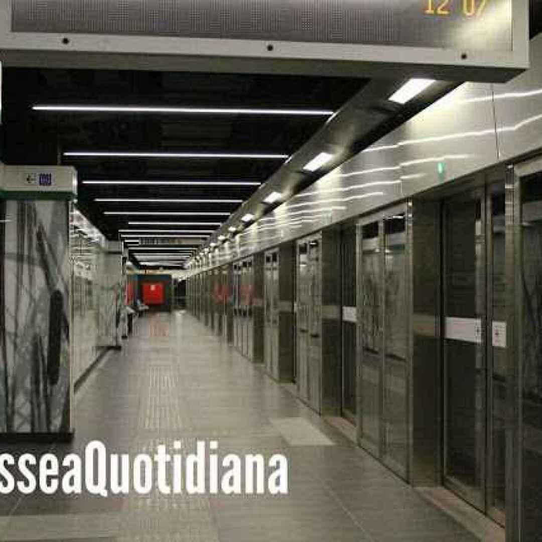 roma  trasporto pubblico  atac  metro c