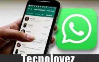 WhatsApp: whatsapp effetto boomerang