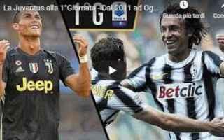 Serie A: juventus juve calcio video serie a