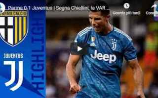 Serie A: parma juventus video gol calcio