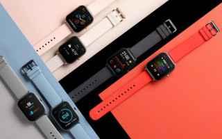 amazfit gts  apple watch  smartwatch