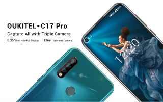 Cellulari: oukitel c17 pro  smartphone  offerta