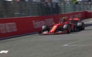 Dominio della Ferrari, che ha fatto doppietta nelle prime due sessioni delle prove libere, del Gran