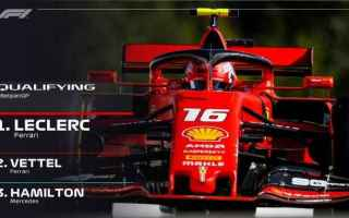 Charles Leclerc show a Spa, dopo aver dominato Fp2 e Fp3 si è ripetuto anche nelle qualifiche, conq