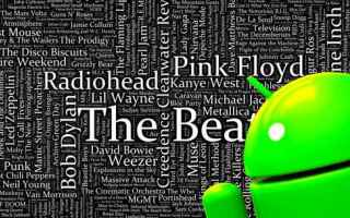Android: testi canzoni android canzoni musica