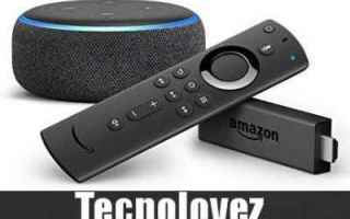 Amazon: fire tv stick telecomando vocale alexa