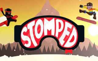 Mobile games: android iphone neve videogioco snowboard