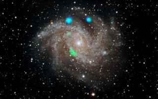Astronomia: galassie  nustar