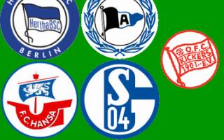 Calcio: Come mai una squadra si chiama Hertha, Arminia, Hansa, Schalke o Kicker?