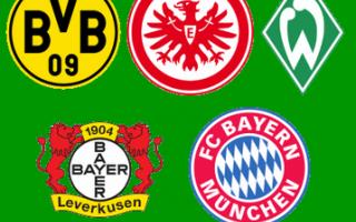 Calcio: Come mai una squadra si chiama Borussia, Eintracht, Werder, Bayer, Bayern, Dinamo o Lokomotive?