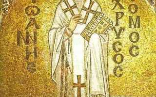 Religione: crisostomo  dottore  giovanni  vescovo