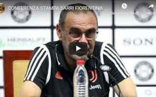 juventus juve calcio video sarri