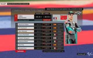 Nuovo dominio Yamaha nelle FP3, dove Fabio Quartararo 1.32.081 ha stabilito la miglior prestazione d