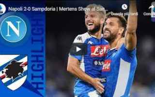 napoli sampdoria video gol calcio