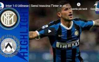 inter udinese video gol calcio