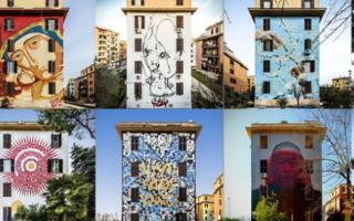 Tormarancia Big City Life<br />E la street art realizzata da 999Contemporary a Roma nel quartiere T