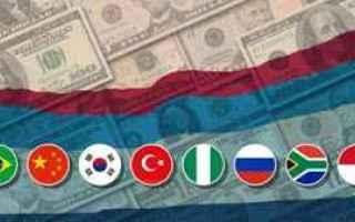 emergenti  cambio euro real  ordine stop