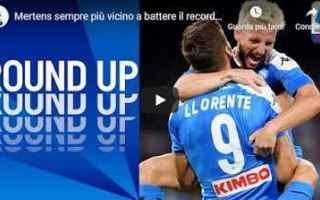 mertens maradona napoli calcio video