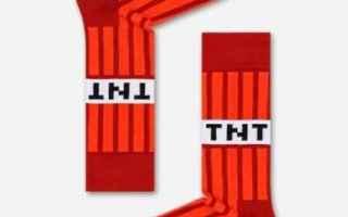 minecraft  happy socks  bambini