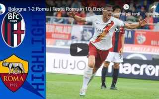 bologna roma video gol calcio